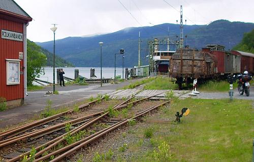 Rjukanbahn am Tinnsjö