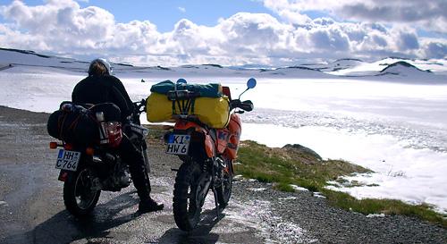Pause auf dem Hardangervidda