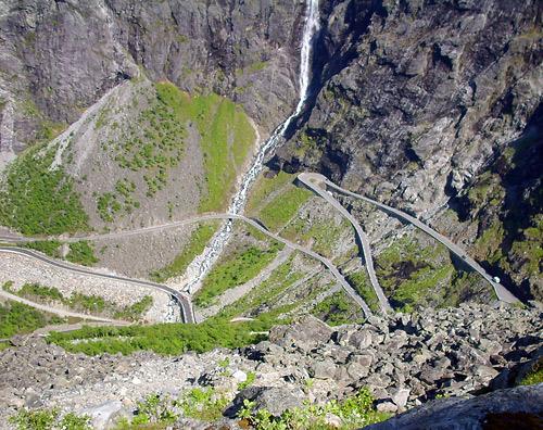 Die elf Haarnadelkurven des Trollstigen