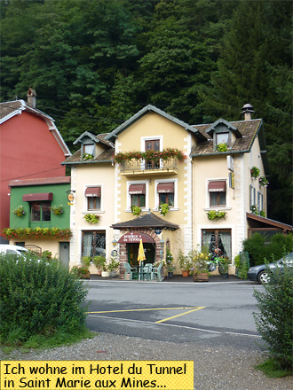 Hotel du Tunnel in Saint Marie aux Mines
