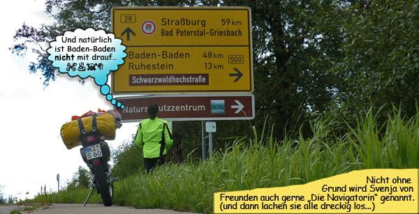 Schwarzwaldhochstrasse mit dem Motorrad