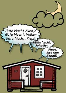 Stuga Waltons Comic