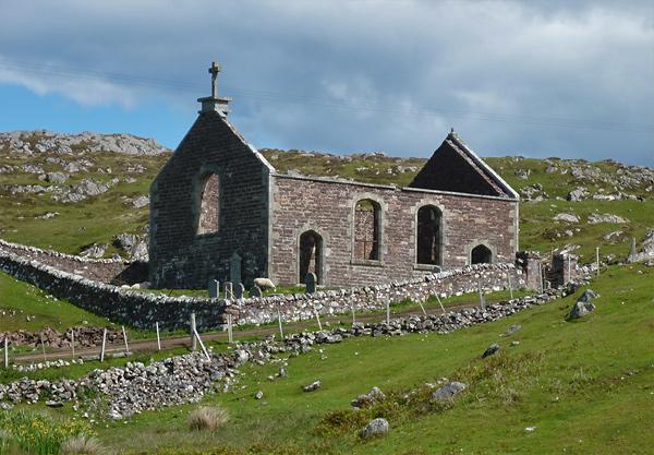 Deserted Church, eine verlassene Kirche