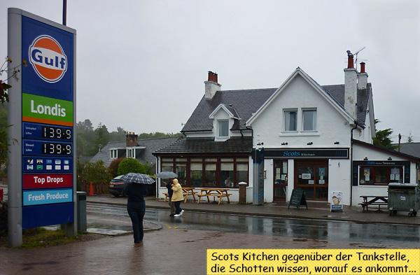 Scots Kitchen Fort Augustus Loch Ness