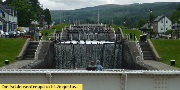 Schleuse Fort Augustus Loch Ness
