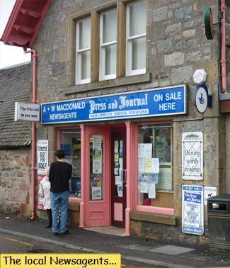 Fort Augustus MacDonald Newsagents