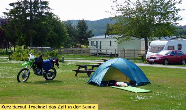 Campingplatz Ballater