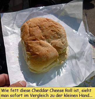 Cheddar Cheese Roll