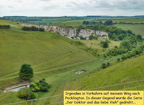 Landscape in Yorkshire