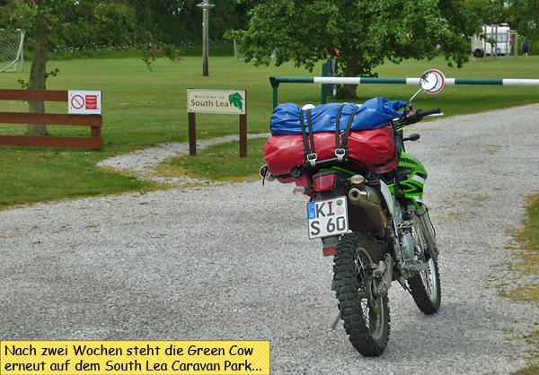 South Lea Caravan Park Motorbike