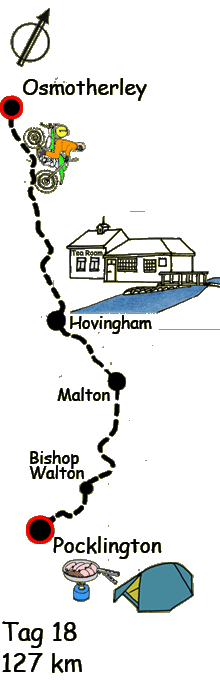 Osmotherley Hovingham Pocklington