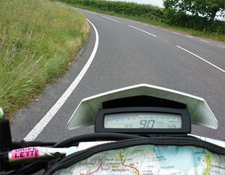 Linksverkehr mit dem Motorrad in England