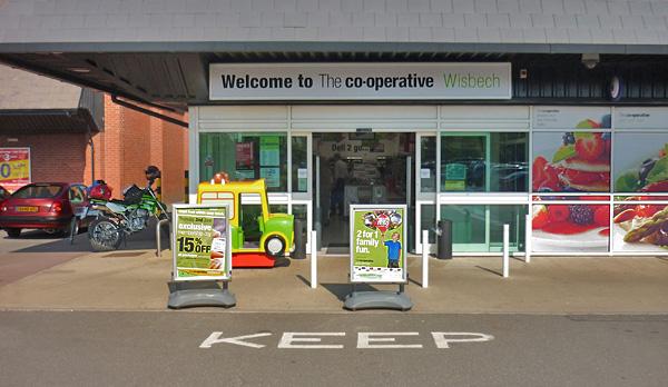 CoOp in Wisbech, England