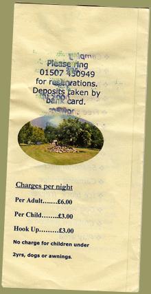 Westend Farm Flyer