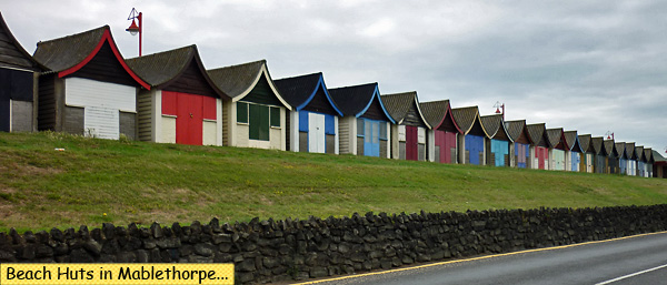 Beach Huts Mablethorpe