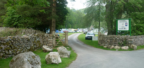 Eskdale Camping Zufahrt
