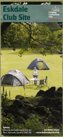 Eskdale Camping Flyer