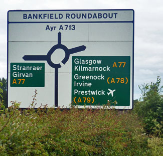 Bankfield Roundabout Ayr