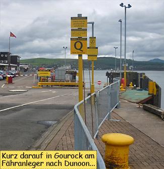 Gourock Dunoon Ferry Terminal