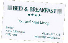 Bed & Breakfast Ballachulish