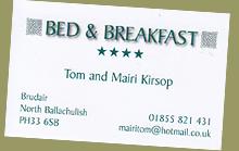 Bed & Breakfast Ballachulish