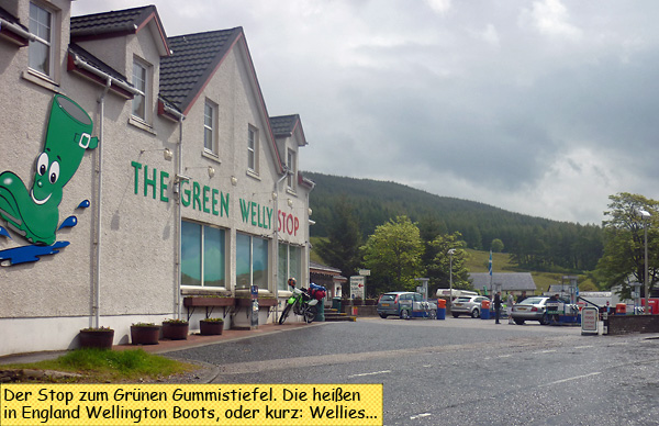Green Welly Stop Tyndrum Scotland