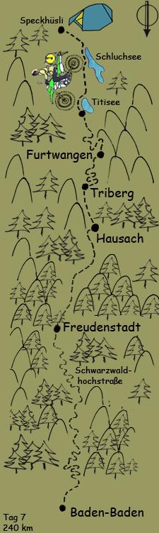 Tag 7 Schwarzwaldhochstrasse
