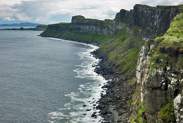 Cliff bei Staffin