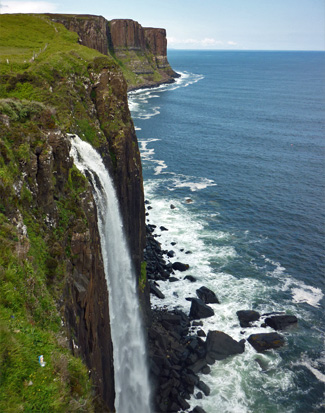 Isle of Skye Wasserfall Staffin