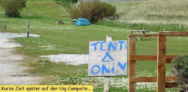 Uig Campsite