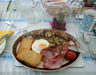 Full Scottish Breakfast West End Hotel Dunoon
