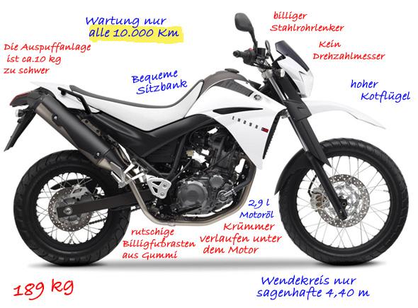 Yamaha XT660R ein bequemes Reisebike zum Endurowandern