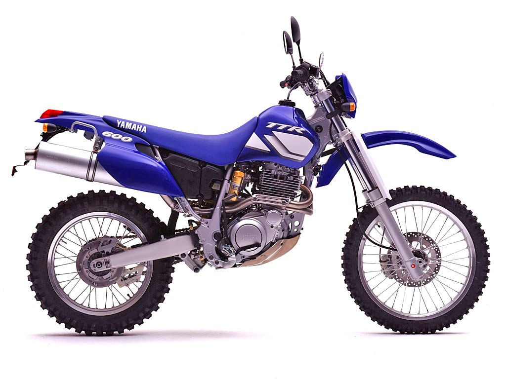 Svenduro auf Yamaha TT600R