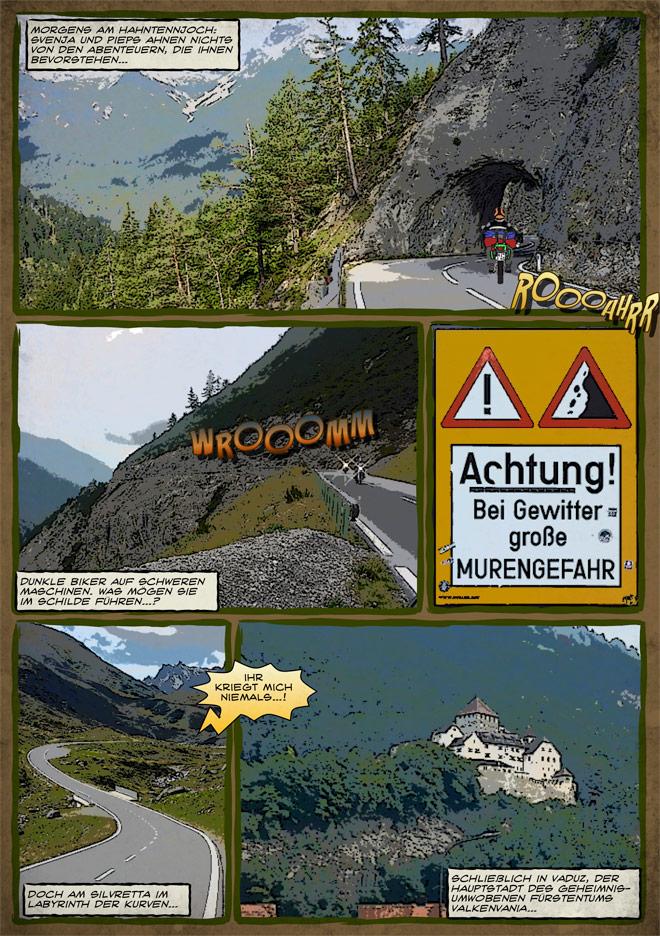 Endurowandern in den Alpen