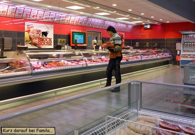 Fleischabteilung Famila