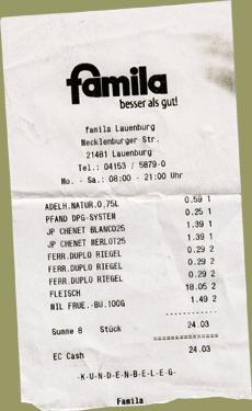 Famila Einkauf