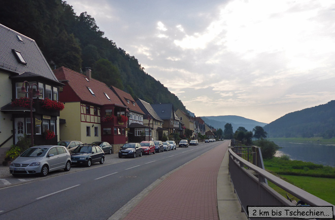 Bad Schandau Elbe