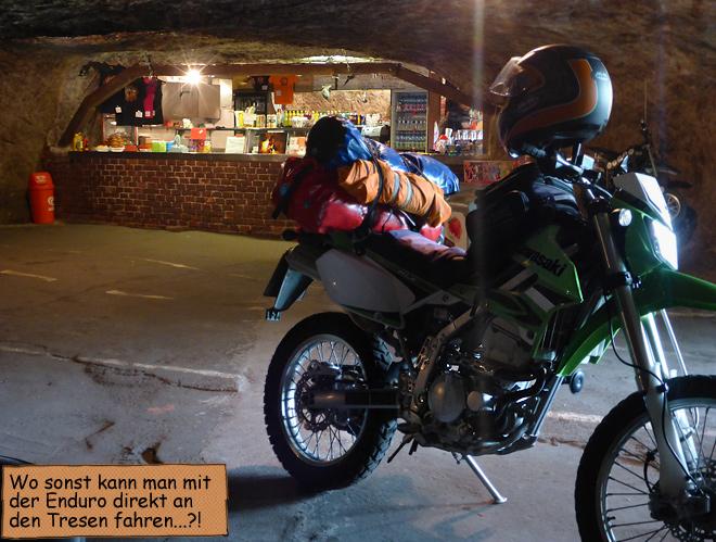 Motorradhöhle Motoklub Pekelne Dolny