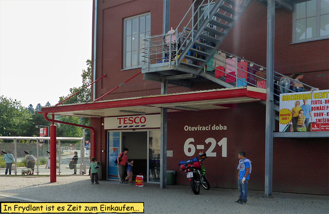 Tesco Tschechien