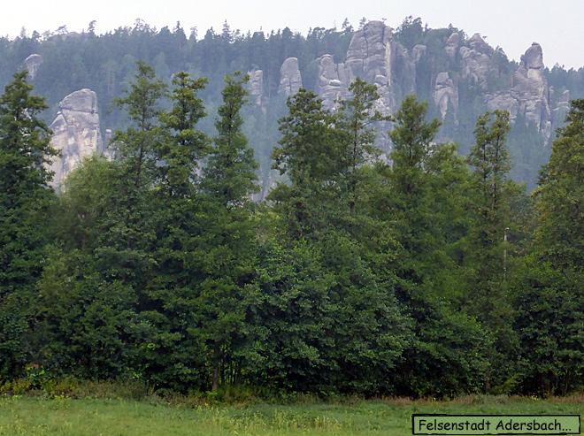 Felsenstadt Adersbach Riesengebirge