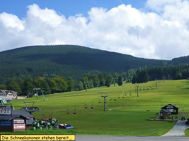 Skigebiet Tschechien
