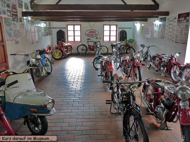 Motorradmuseum Java Lesna