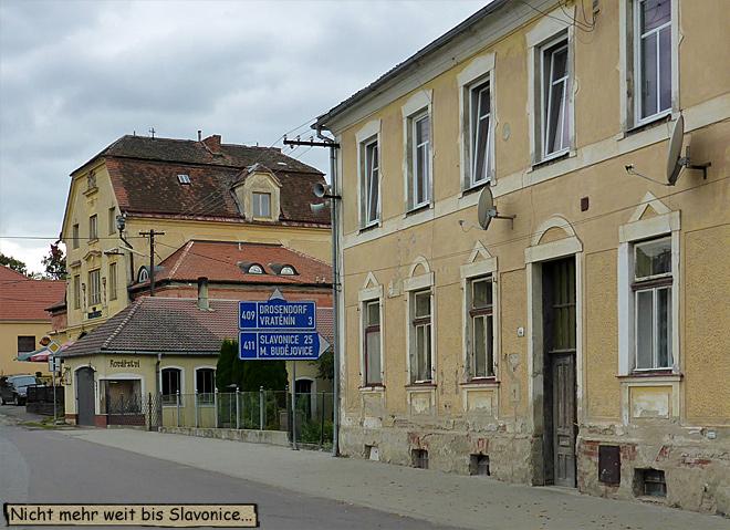Häuser in Tschechien