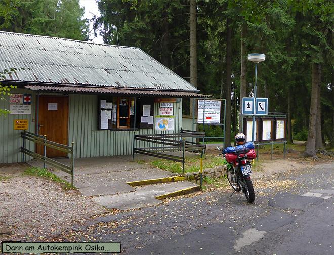 Camping Osika Tschechien