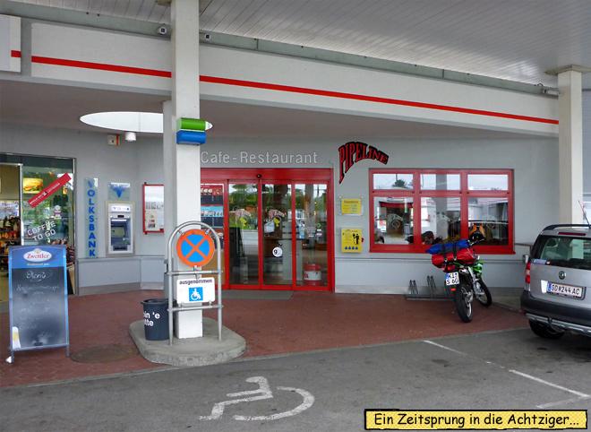 Tankstelle Restaurant Österreich