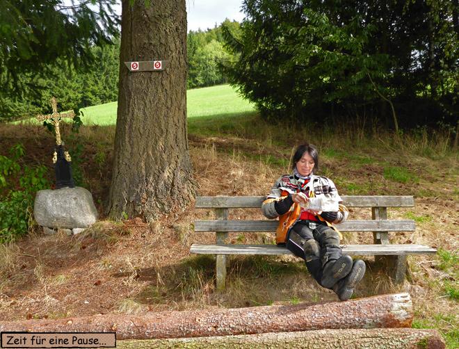 Pause Motorradtour