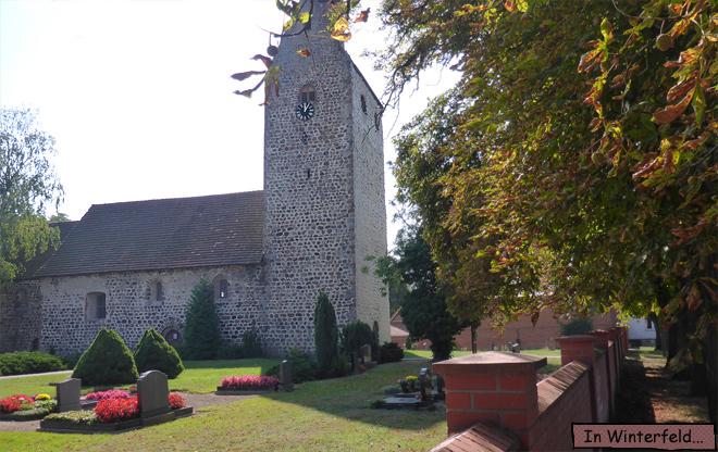 Romanische Kirche Winterfeld