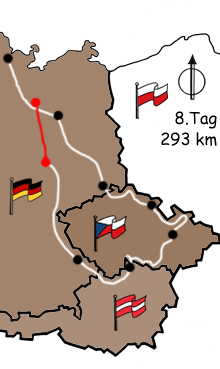 Motorradreise Tschechien