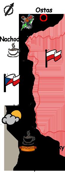 Motorradtour Tschechien