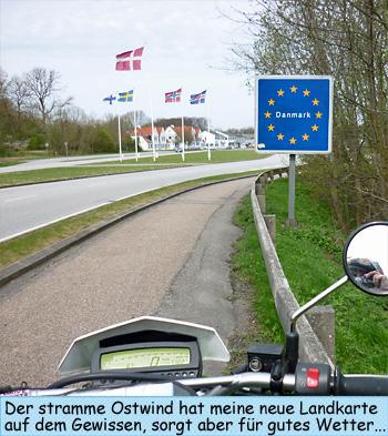Deutsch dänische Grenze Kruså